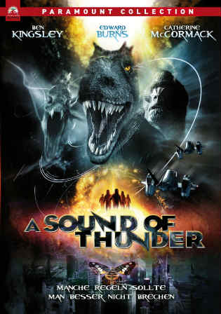 A Sound of Thunder 2005 BRRip 300MB Hindi Dual Audio ORG 480p Watch Online Full Movie Download bolly4u