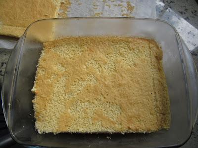 Tarta de tocino de cielo, nata y bizcocho Thermomix