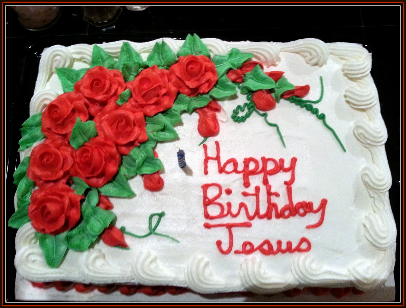 Happy Birthday Jesus Cake Pictures