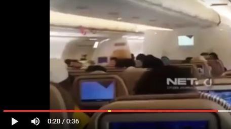 VIDEO: Tangisan dan Pekikan Takbir Jamaah Umroh Penumpang Etihad Ini Bikin Merinding