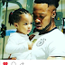 Some people think Flavour is not showing equal love to his daughters