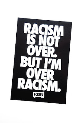 You. Yes you. Stop being a racist d*ck.