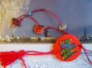 Χριστουγεννιάτικα χειροποίητα γουράκια by Sidoroff Handmade Jewellery