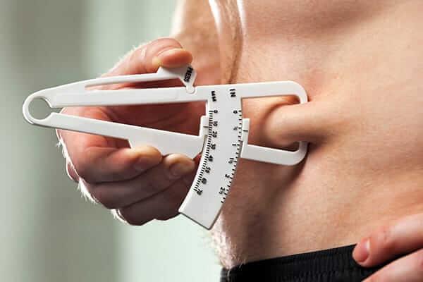 نسبة الدهون في الجسم الطبيعي