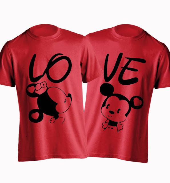 Valentines Day T Shirts For Couples
