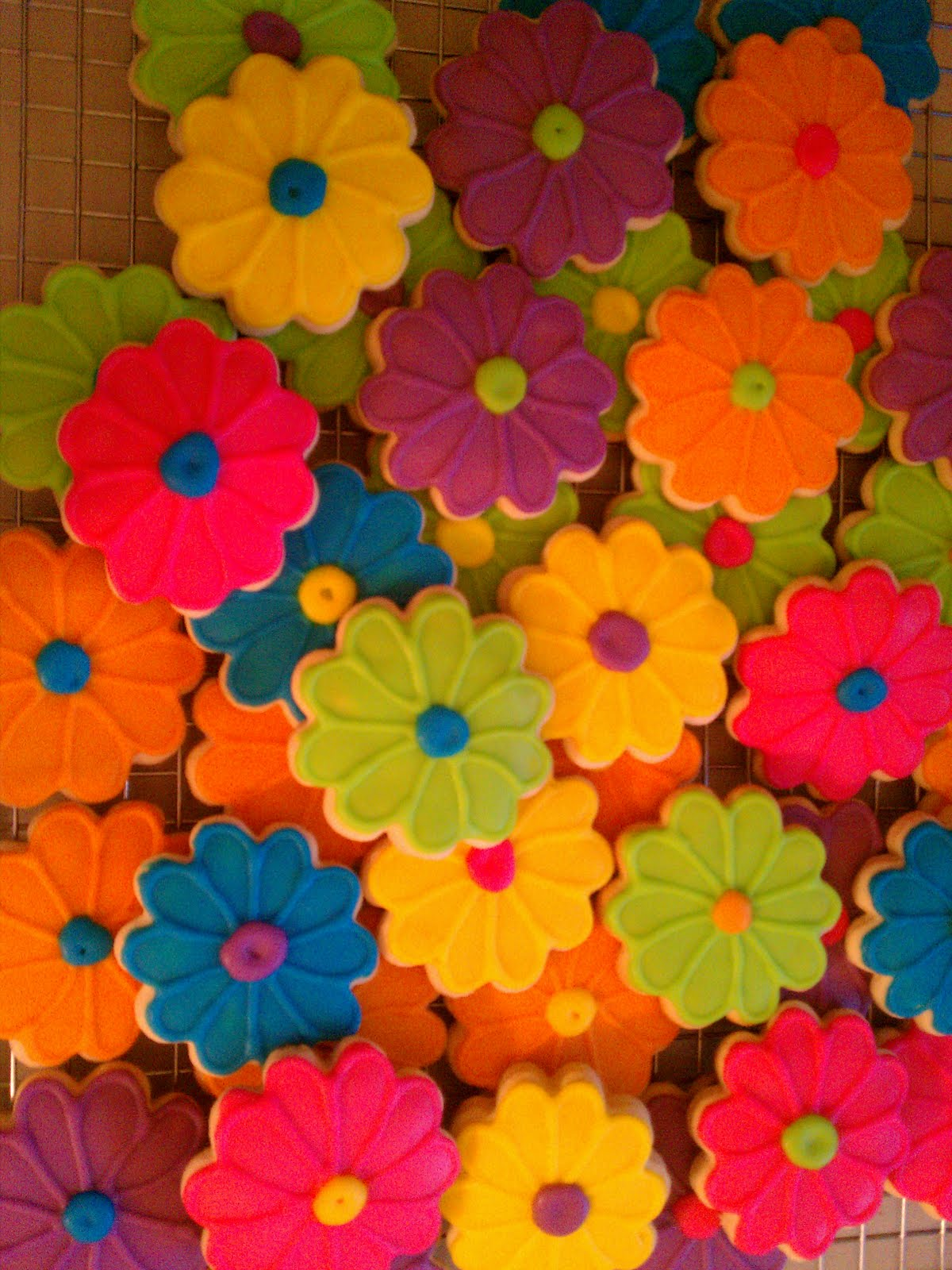 Kc S Creations My Favorites Bright Colorful Flowers