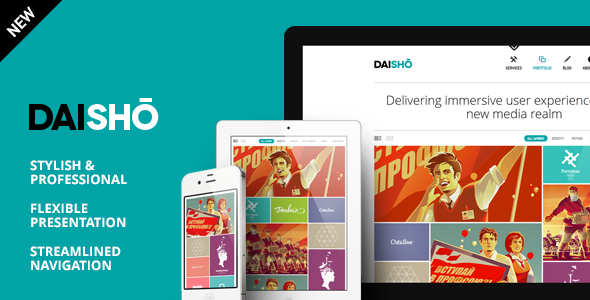 Daisho v2.1 - Flexible WordPress Portfolio Theme