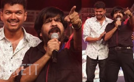 """""""You can speak only in Kakkoos"""" – T.R Angry speech reply in Puli Audio Launch Issue"""