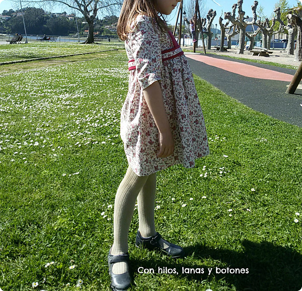Con hilos, lanas y botones: Vestido Lilium