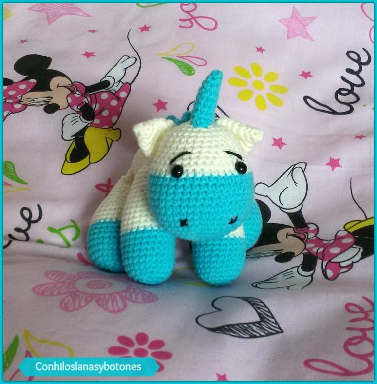 Amigurumi Unicornio Mini | Tejidos en Crochet Teje Bebé | 778x764