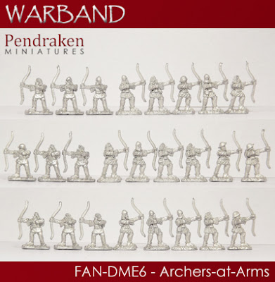 FAN-DME6   25 x Archers-at-Arms