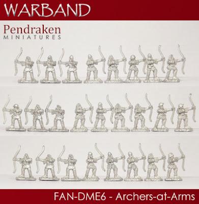 FAN-DME6   25 x Archers-at-Arms