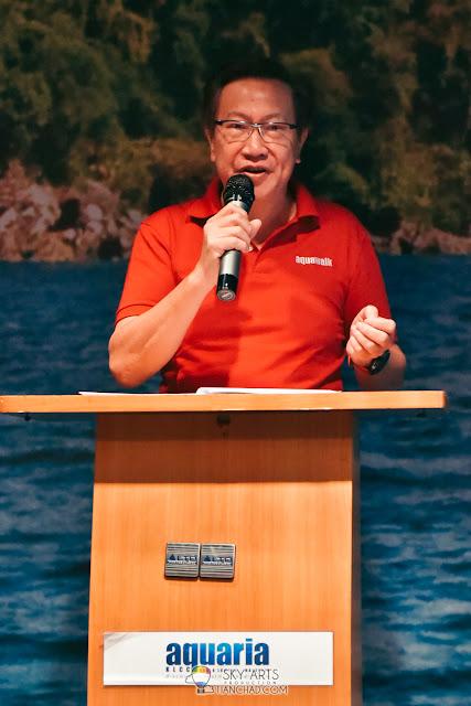 Dato' Simon Foong, Group Managing Director & Chairman of Aquawalk Sdn Bhd