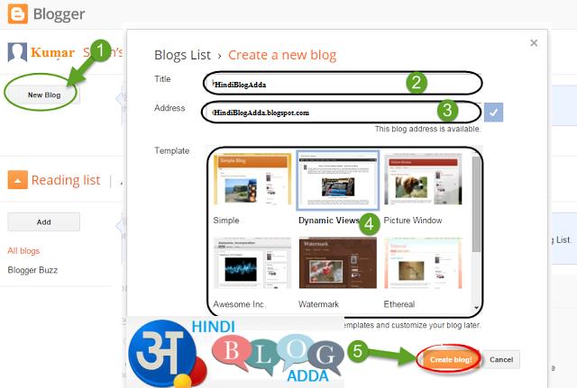 Create-Blog-Website-With-Google-Blogger