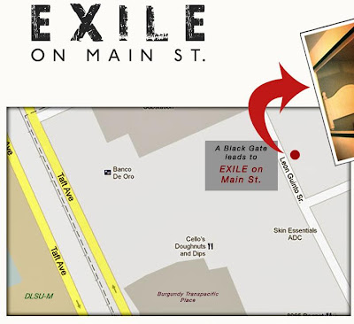 Exile on Main St. Map