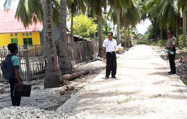 Camat Bontosikuyu Pimpin, Tim Monitoring ,Pelaksanaan Dana Desa
