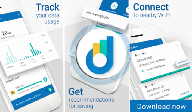 Datally v1.0 Mobile Data-Saving & WiFi app by Google : APK to Download | App Review