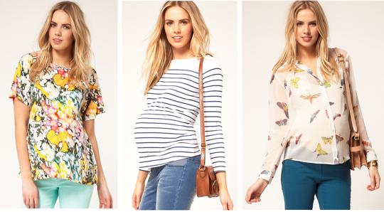 Fashionable maternity clothing