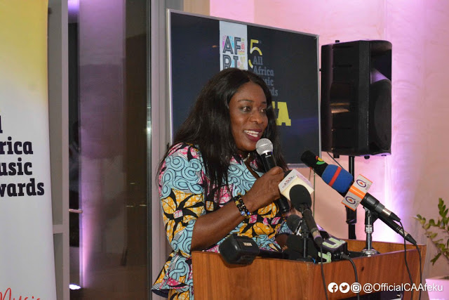 AFRIMA 2018: Minister For Tourism, Arts & Culture, Catherine Ablema Afeku Charges Ghanaians To Be Courteous To Foreigners