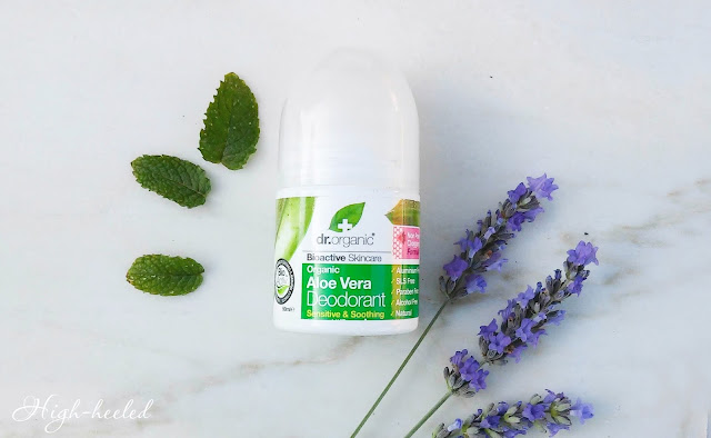 Dr. Organic Aloe Vera Deodorant - отзыв и обзор