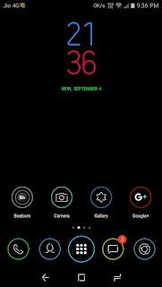 Samsung S8 High contrast