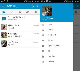 BBM MOD Official Load Font Terbaru
