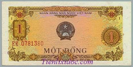 1 đồng Việt Nam năm 1976