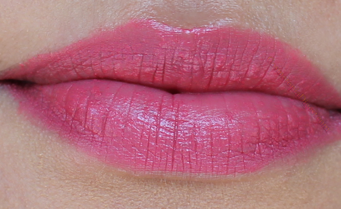 Soap & Glory Sexy Mother Pucker Matte Lip 3D Lip Colour Swatches of Chocoberry