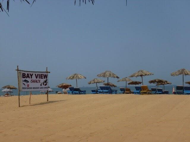 Candolin Beach, Goa