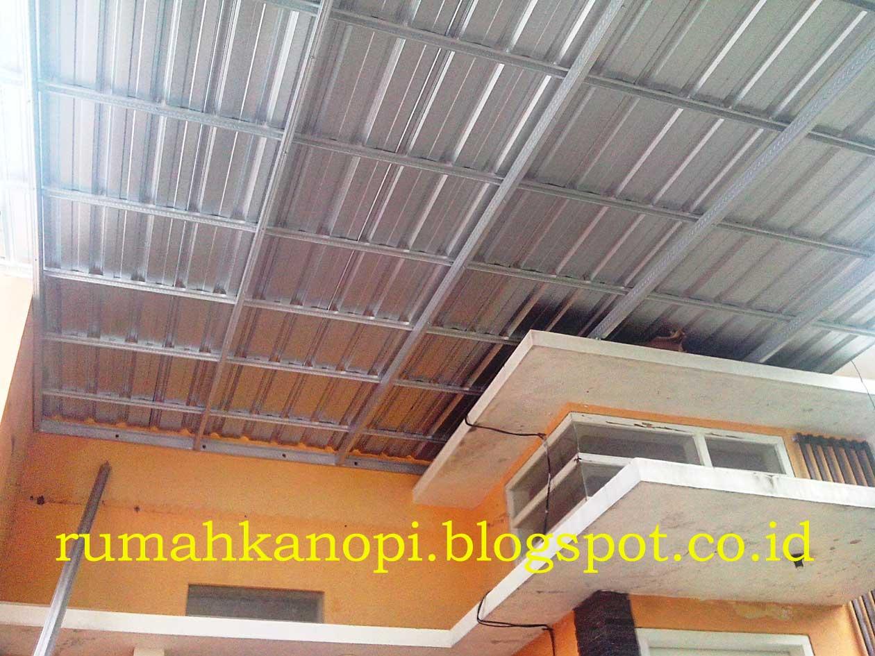 atap baja ringan di pekanbaru gambar kanopi galvalum lengkung | desain rumah