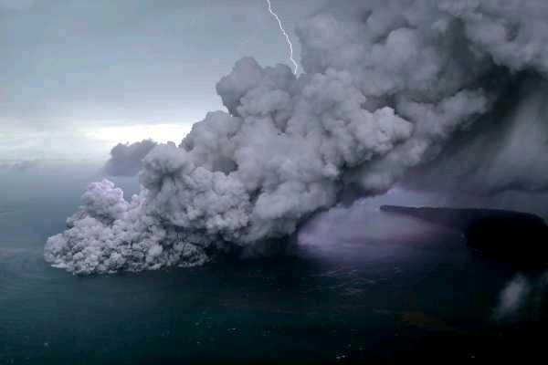 Alkisah Leluhur Anak Krakatau ketika Membelah Jawa-Sumatera