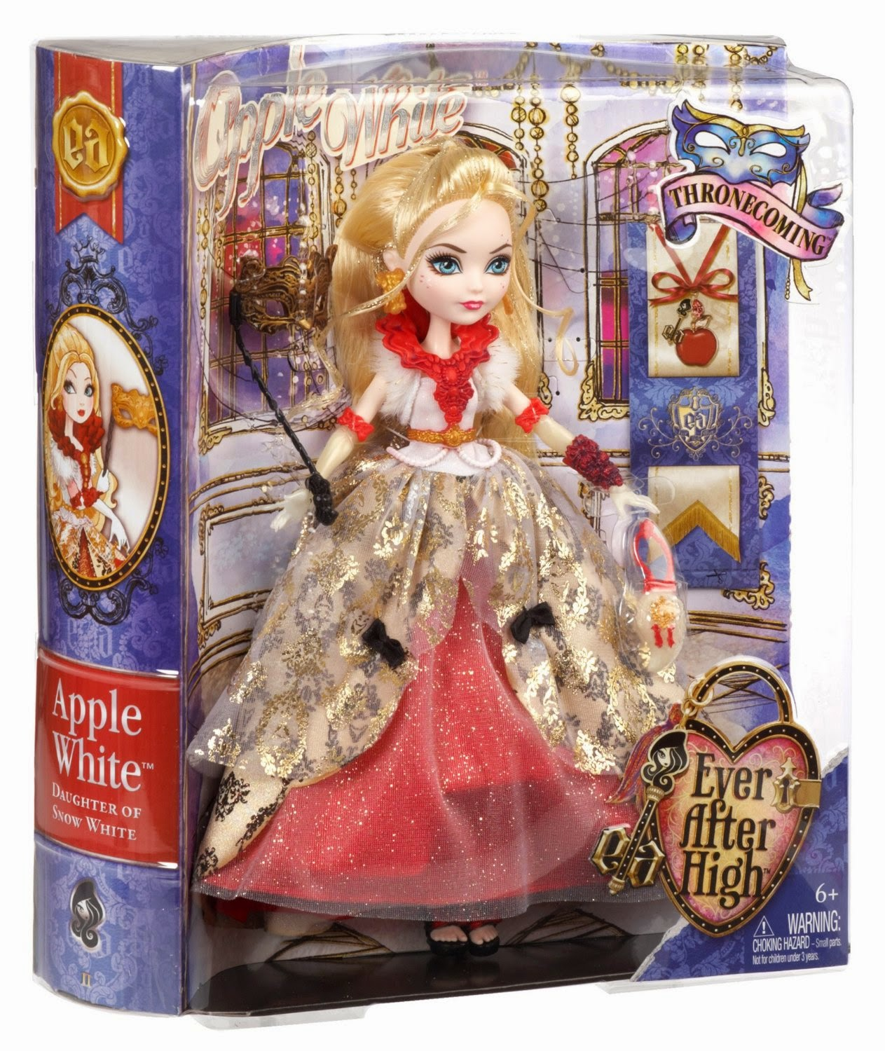 Ever After High Thronecoming Apple White Doll - AnnMarie ...