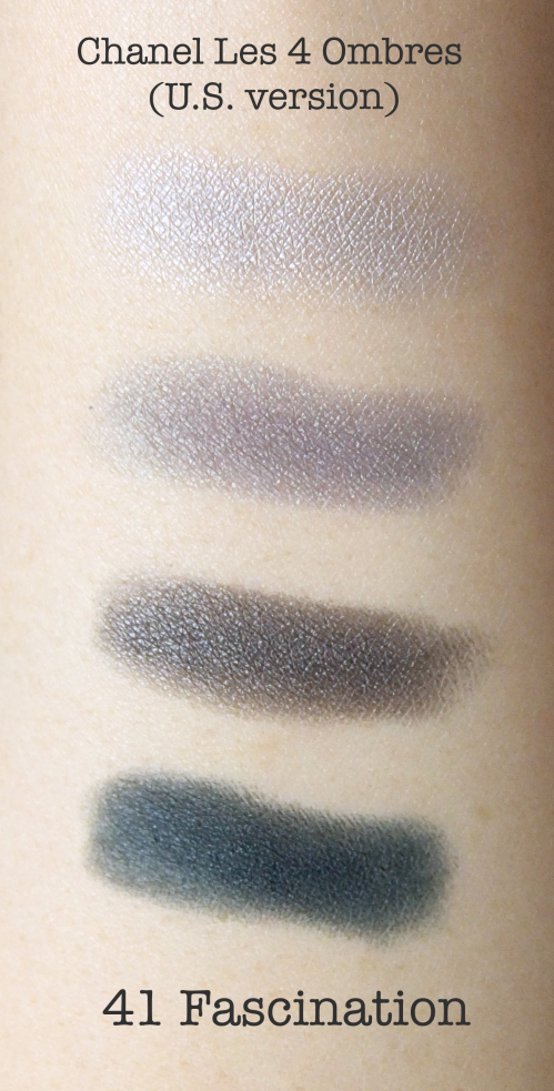 Chanel Les 4 Ombres 41 Fascination Swatch