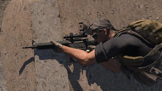 独自の再装填アニメが特徴のArma3用NIArms AR15 Rifles MOD