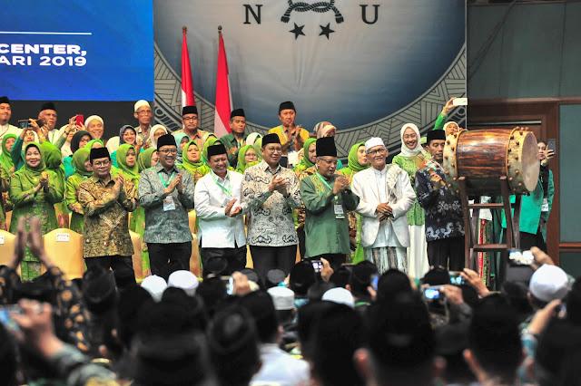 Komitmennya Tak Diragukan, Presiden Jokowi Titip NU Agar Rawat Persatuan dan Persaudaraan