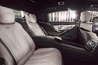 Mercedes-Maybach S 600 Guard (2016) Rear Seats