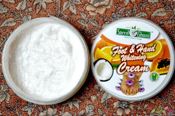 Saeed Ghani Foor & Hand whitening Cream