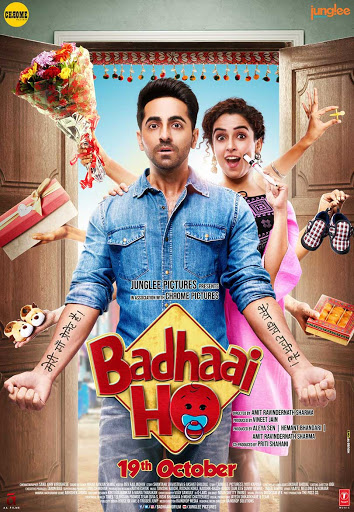 Badhaai Ho 2018 Hindi 720p BluRay 900MB ESub Download
