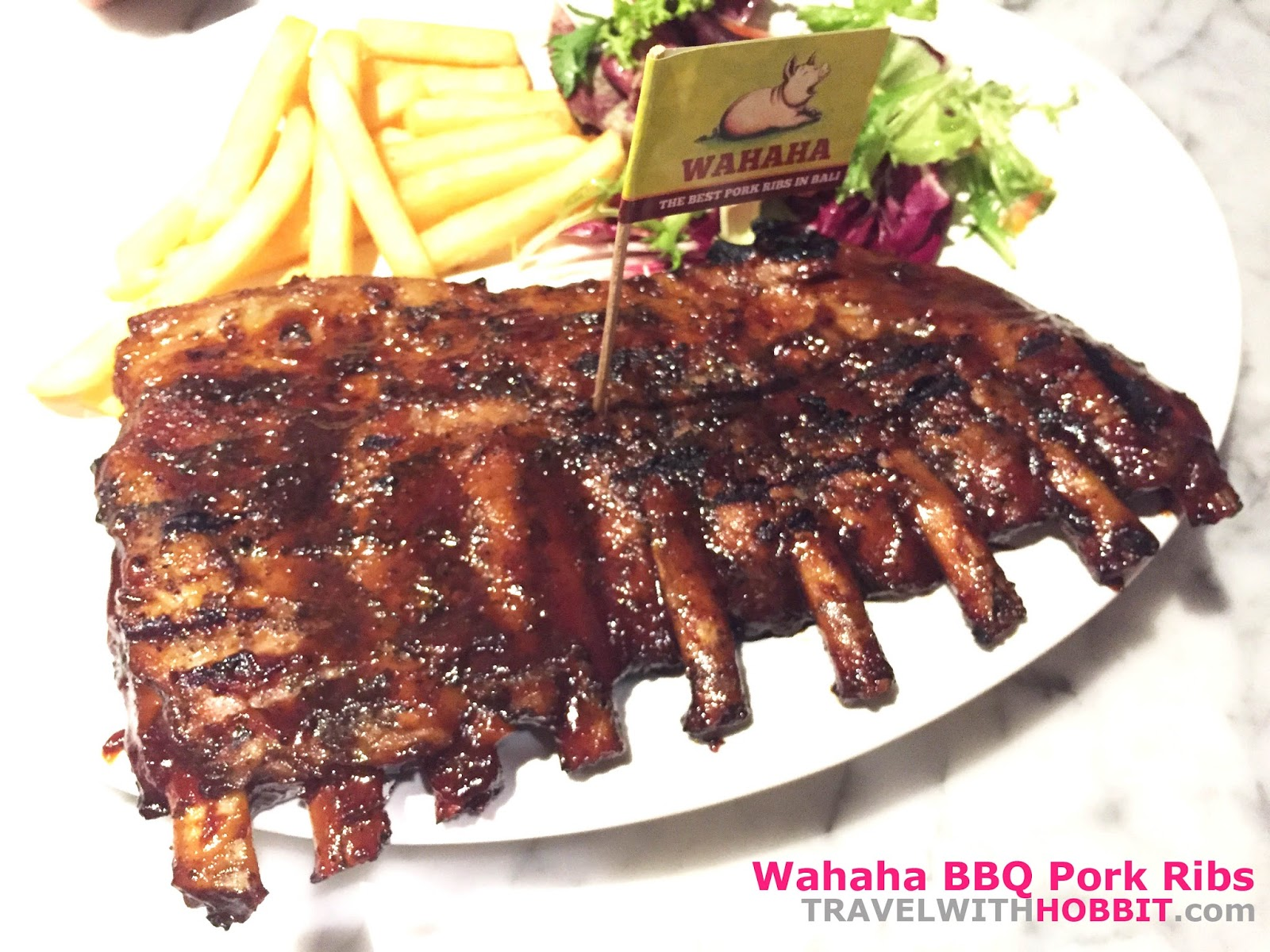 Wahaha Bali Pork Ribs Review