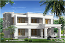 Two Elevations Of Luxury 4 Bed Room Villa