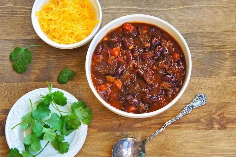 Chili Recipe With Beef Chunks