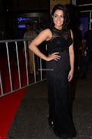 Wamiqa Gabbi in a sleeveless Black Designer Transparent Gown at 64th Jio Filmfare Awards South ~  Exclusive 032.JPG