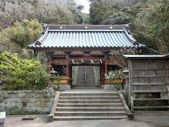 館山:洲崎神社神門