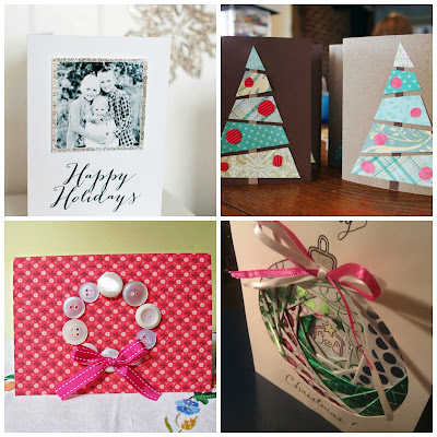 tutorial diy christmas card