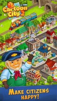 apa kabar nih sob pastinya dalam keadaan sehat semua kan  Cartoon City 2: Farm to Town APK v1.49 for Android Original Version Terbaru 2018