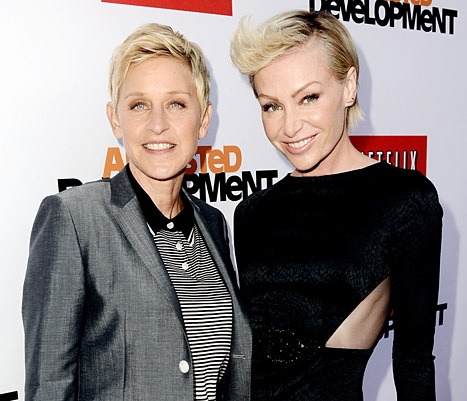 Ellen Degeneres' wife seeking for divorce from the tv host