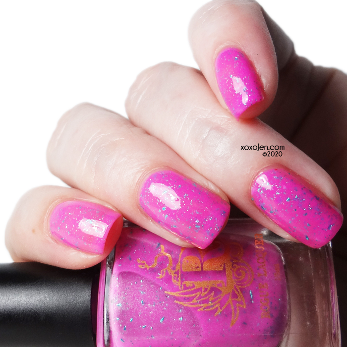 xoxoJen's swatch of Rogue Lacquer Tropic Like It's Hot