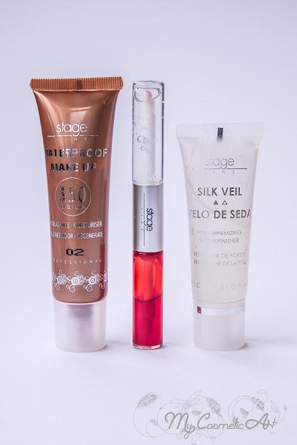 Conociendo Stage Line: maquillaje con tratamiento.