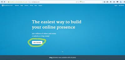 Cara Membuat Blog Gratis WordPress 1