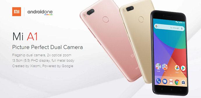 Hape dual kamera - Xiaomi Mi A1